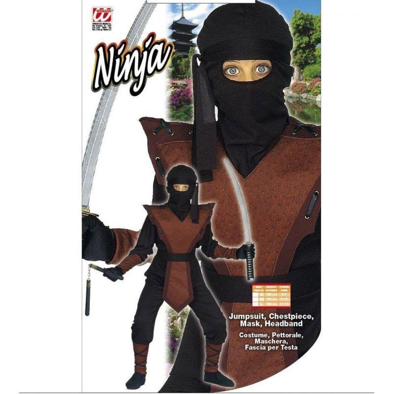 acfdf2ff06e7 ... Widmann 38708 - Kostým Ninja hnedý 158 L