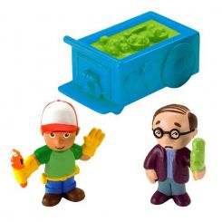 Fisher Price M4844 Handy Manny Figúrky Mr. Lopart a Handy Manny