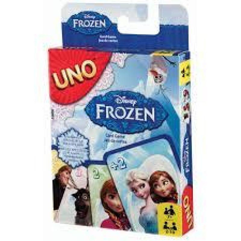 1cd68b192 Mattel CJM70 Uno karty Disney Frozen   Značkové detské hračky a ...