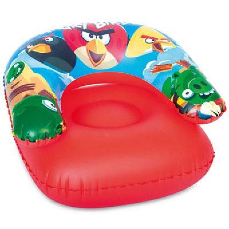 Výsledok vyhľadávania obrázkov pre dopyt Nafukovací křeslo - Angry Birds, 76x76 cm