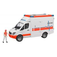 BRUDER 02536 SANITKA MB SPRINT