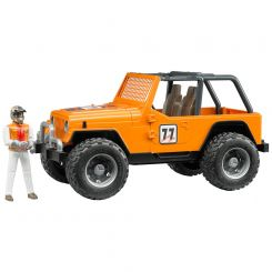 BRUDER 02542 COUNTRY RACER ORANGE