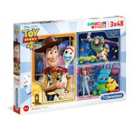 Clementoni 25242 Puzzle 3x48 dielikov Toy Story