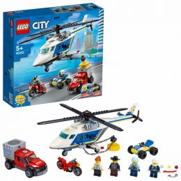LEGO City 60243 Police Helicopter Chase