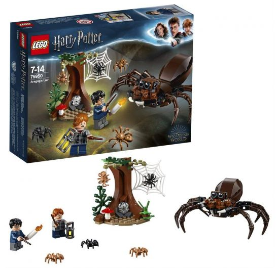 LEGO Harry Potter 75950 Aragogov brloh