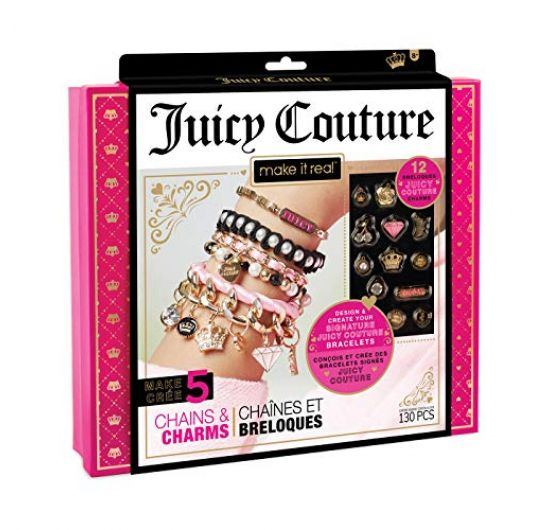 Make it Real Juicy Couture Chains & Charms náramky