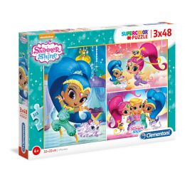 Clementoni 25218 Puzzle Shimmer a Shine 3 x 48 dielov