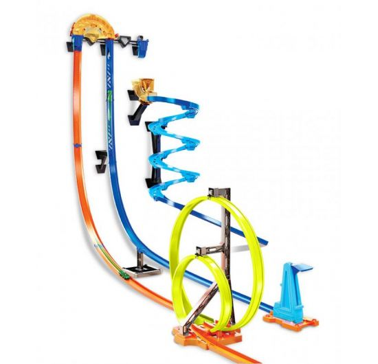 Hot Wheels Track builder zvislá dráha