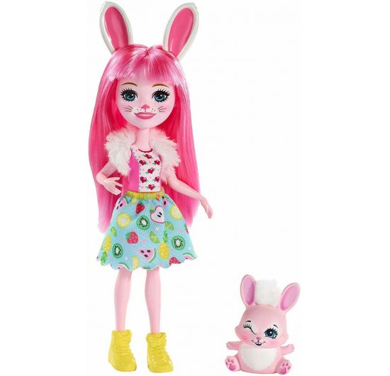 Mattel DVH87-FXM73 Enchantimals Bábika Bree Bunny s Twist