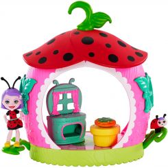 Mattel Enchantimals Chrobáčik domček Ladelia Ladybug a Vine lienka