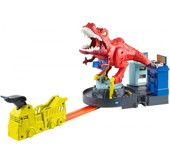 MATTEL GFH88 Hot Wheels City T-Rex útočí