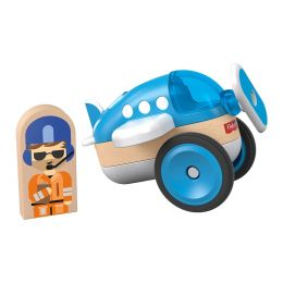 Mattel GFJ19-GFJ20 Fisher-Price Wonder Makers modré lietadlo