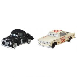 Mattel DXV99 Cars 3 Autá 2 ks Heyday Junior Moon a Heyday Leroy Heming