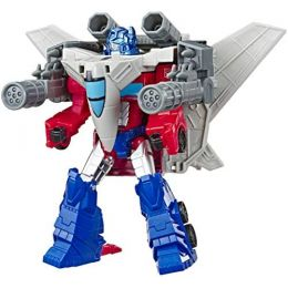 Hasbro E4220 Transformers CYB Spark Armour Elite figúrka Optimus Prime a Sky Turbine