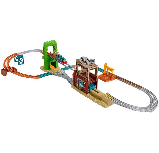 Fisher Price Thomas FBK08 Mašinka Tomáš Set lanový most
