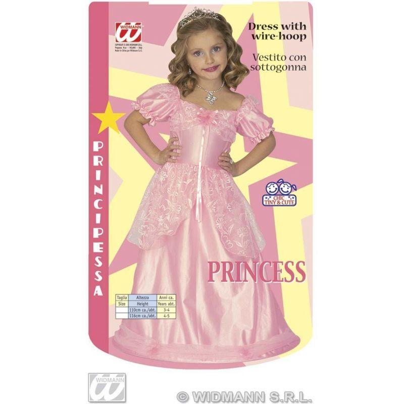 ... Widmann 4386L - Kostým princezná ružová 110 - 116 XS 3300d4b733f