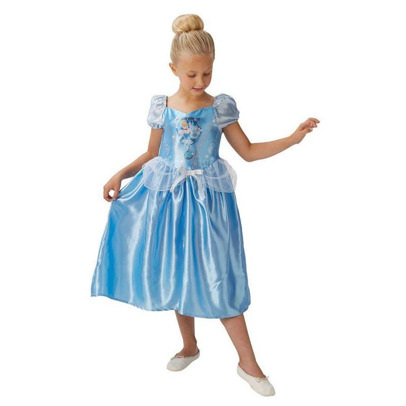 1b90c0b39501 Rubies 620537L - Kostým Disney princezná Popoluška 122-128 cm ...
