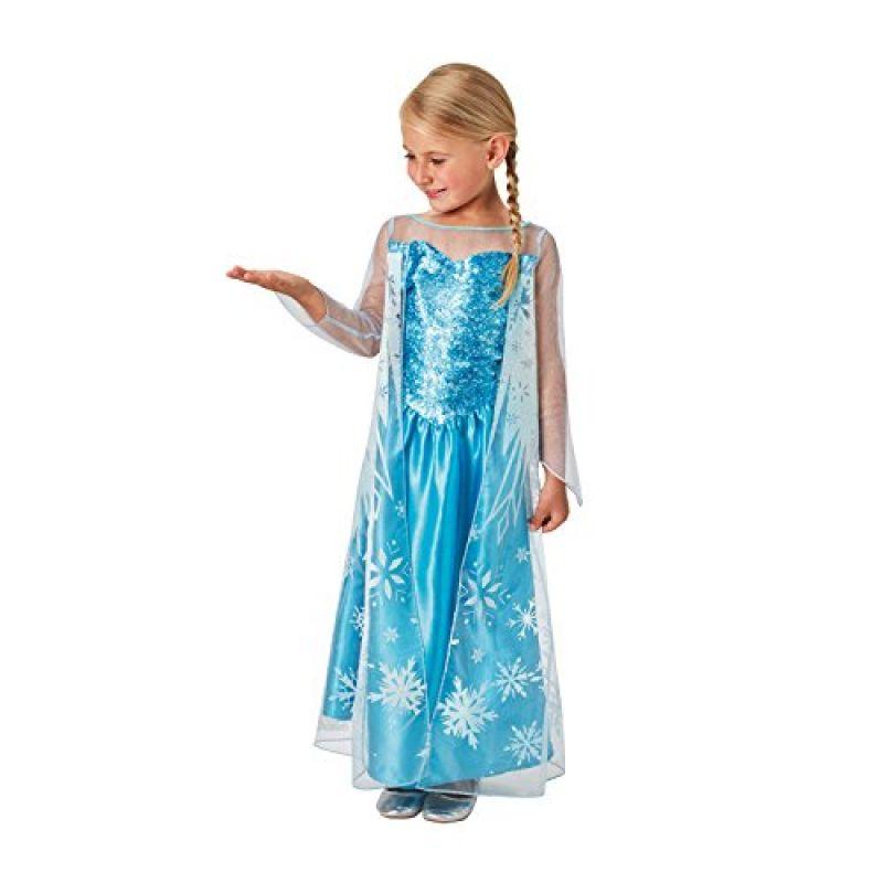 2976b3d9d8d9 Rubies 620975M - Kostým Frozen Ľadové kráľovstvo princezná Elsa 110 - 116  cm M
