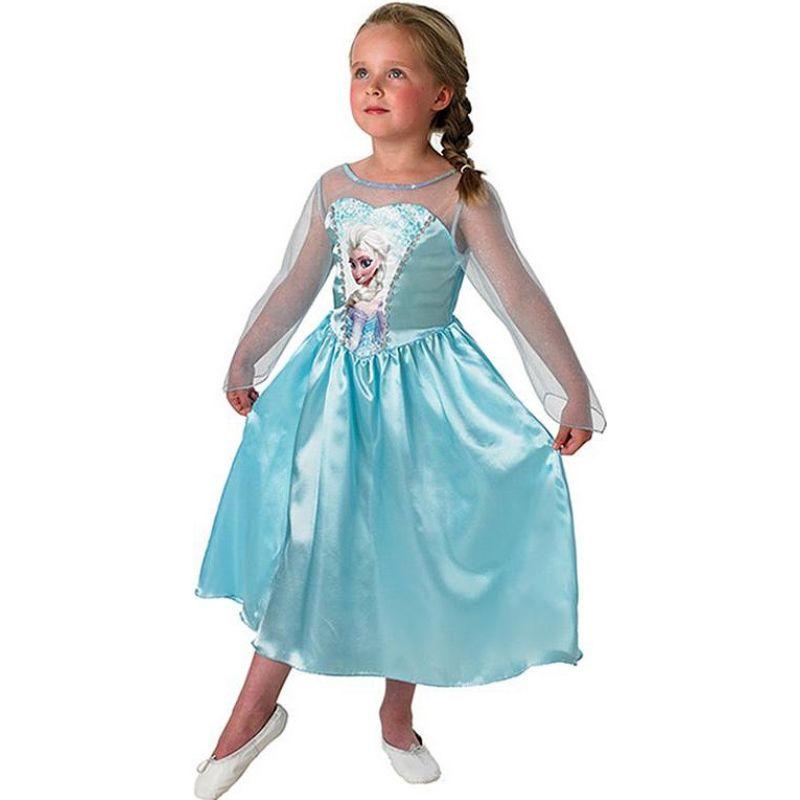 98b476bf49f8 Rubies 889542 - Kostým Disney Frozen Princezná Elsa 122 - 128 ...