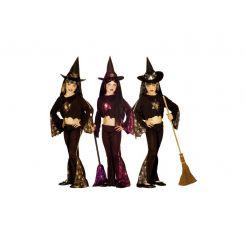 Widmann 33437 - Kostým čarodejnica trblietavá 140 M 7e73457fe08