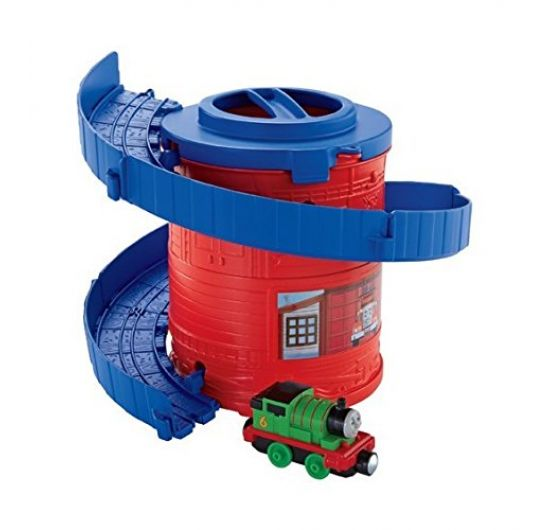 Fisher Price Thomas CDN00-CDN02 hracia sada Špirála s Percym