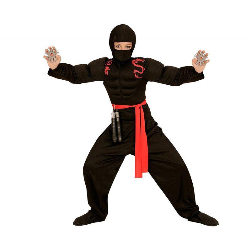 9a8111f6bef3 Widmann 00528 - Kostým Ninja super 158 L