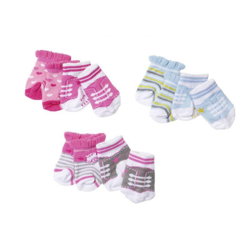 Zapf Creation 823576 Baby Born Ponožky 2 páry 6e535183ce1