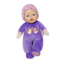 Zapf Creation Baby Born 825303 Bábika First love 26 cm  fialová